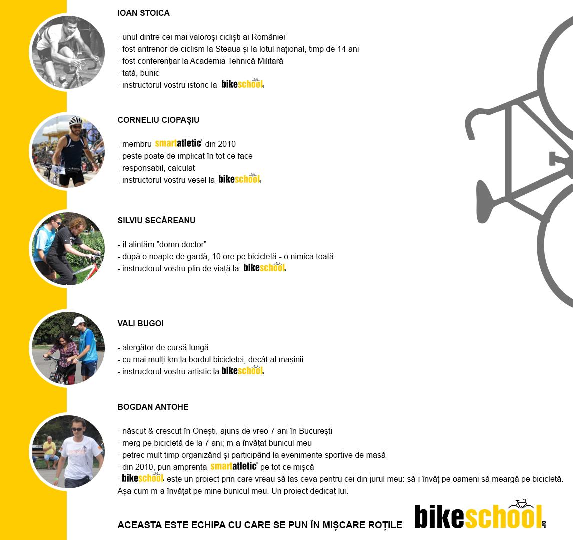 echipa bikeschool