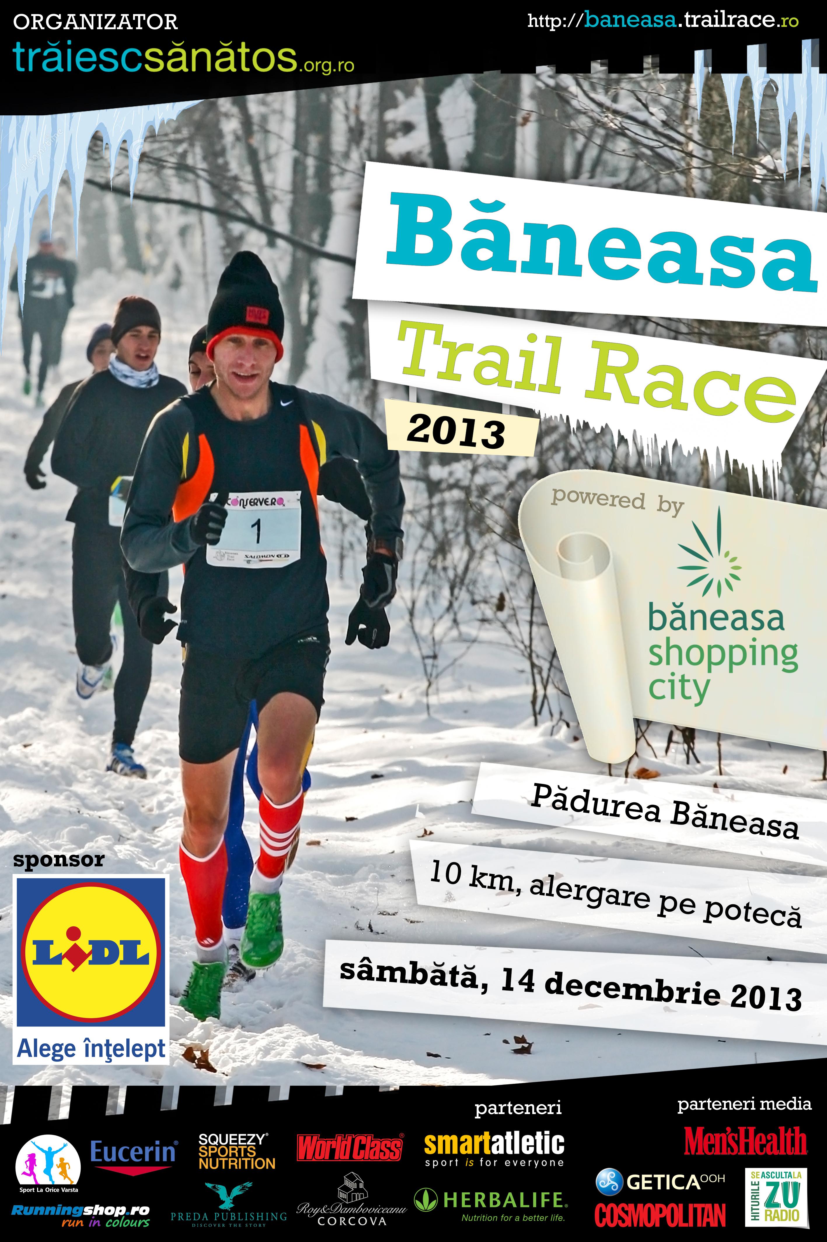 Afis Baneasa Trail Race