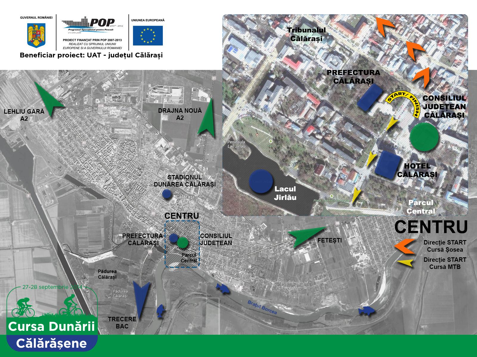 harta locatie CDC Esplanada_Consliul Calarasi