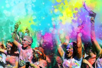 The Color Run Romania, 2015 - vizual 1