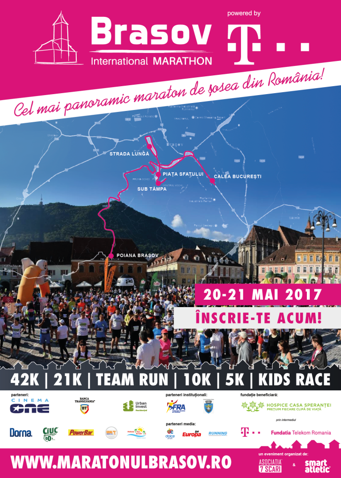 poster Brasov International Marathon 2017