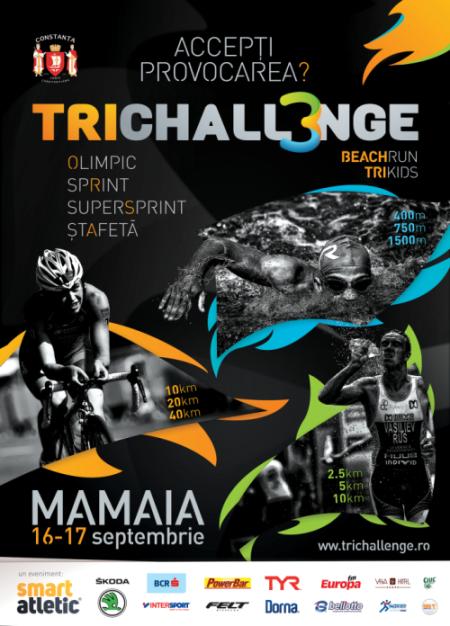 Trichallenge Mamaia, 16-17septembrie 2017